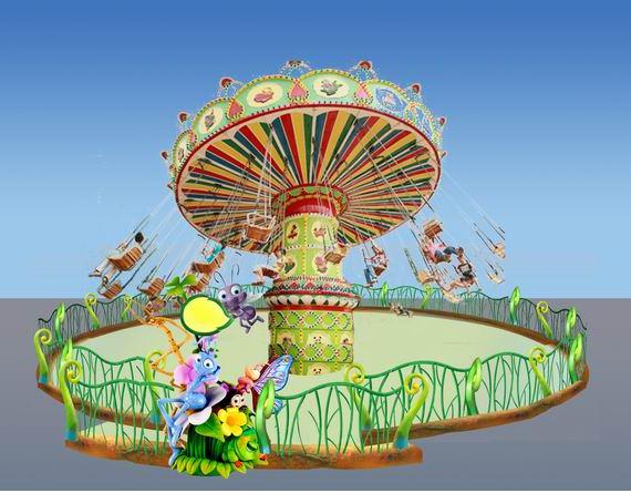 公园广场经典儿童游乐设备迷你飞椅,供应12座豪华迷你飞椅大洋是专家,小飞椅,迷你飞椅儿童小飞椅,旋转小飞椅,小飞鱼选大洋示例图7