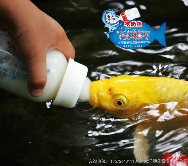 新型游乐项目吃奶鱼池,吃奶鱼,奶嘴鱼游乐设备,吸奶鱼娱乐项目,互动型娱乐项目吃奶鱼,2020参与性互动型娱乐项目示例图8