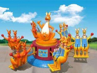 2013-2020都流行 新款 游乐 欢乐袋鼠 郑州大洋好玩的 欢乐袋鼠项目 袋鼠跳 厂家游乐设施示例图4