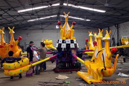 2013-2020都流行 新款 游乐 欢乐袋鼠 郑州大洋好玩的 欢乐袋鼠项目 袋鼠跳 厂家游乐设施示例图6