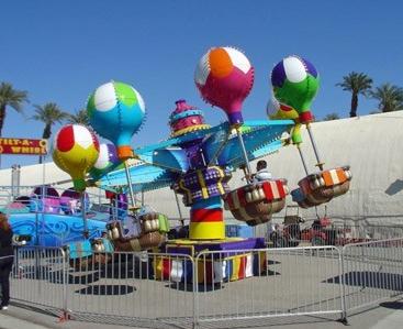 户外亲子游乐设备桑巴气球,旋转升降桑巴气球款式新颖安全优质品质优良等你来拿哦示例图12