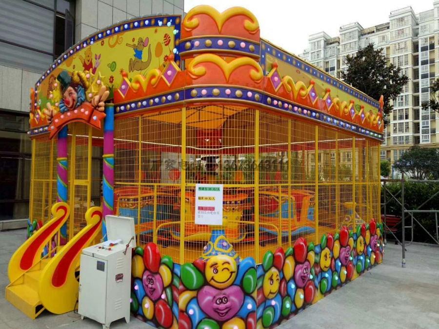 郑州大洋儿童游乐设备欢乐喷球车 新赚钱神器轨道欢乐喷球车厂家造型分类齐全保您满意示例图7