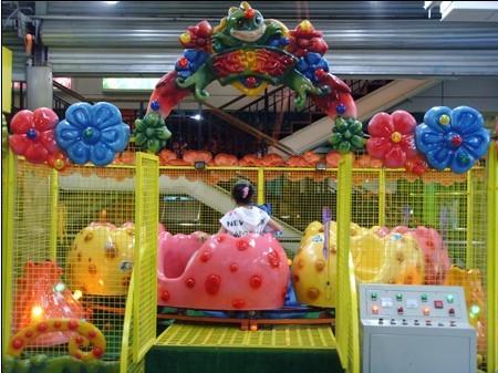 郑州大洋儿童游乐设备欢乐喷球车 新赚钱神器轨道欢乐喷球车厂家造型分类齐全保您满意示例图14
