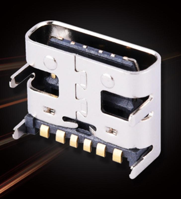 12:3A大电流 6P USB TYPE C母座 快速充电.jpg
