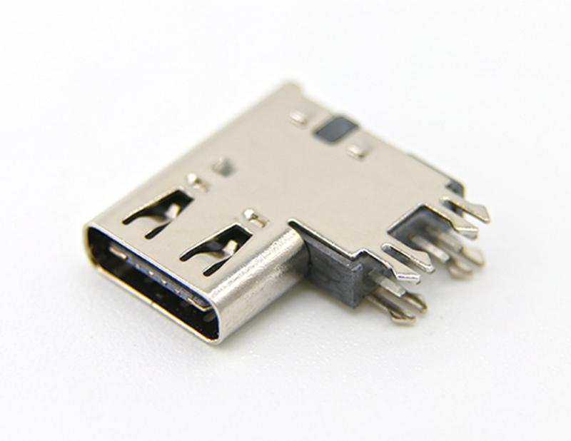 5:侧立式加高USB3.1母座 侧插Type-C 6P母座.jpg