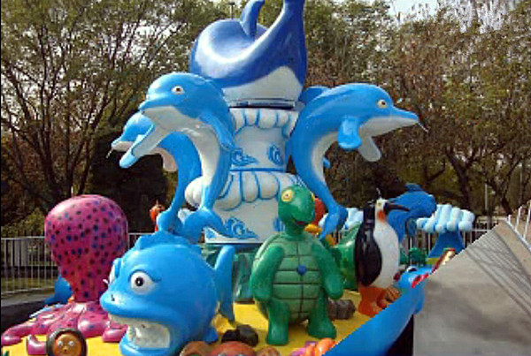 现货供应儿童旋转欢乐海洋 大洋专业定制水上欢乐海洋游乐设备示例图12