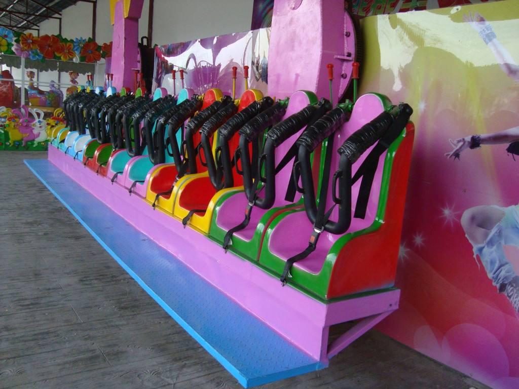 郑州大洋游乐设备重磅推出新款游乐儿童排排座项目 全新设计排排座报价示例图11