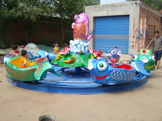 广场鲤鱼跳龙门儿童游乐设备 现货供应 郑州顺航鲤鱼跳龙门厂家示例图5