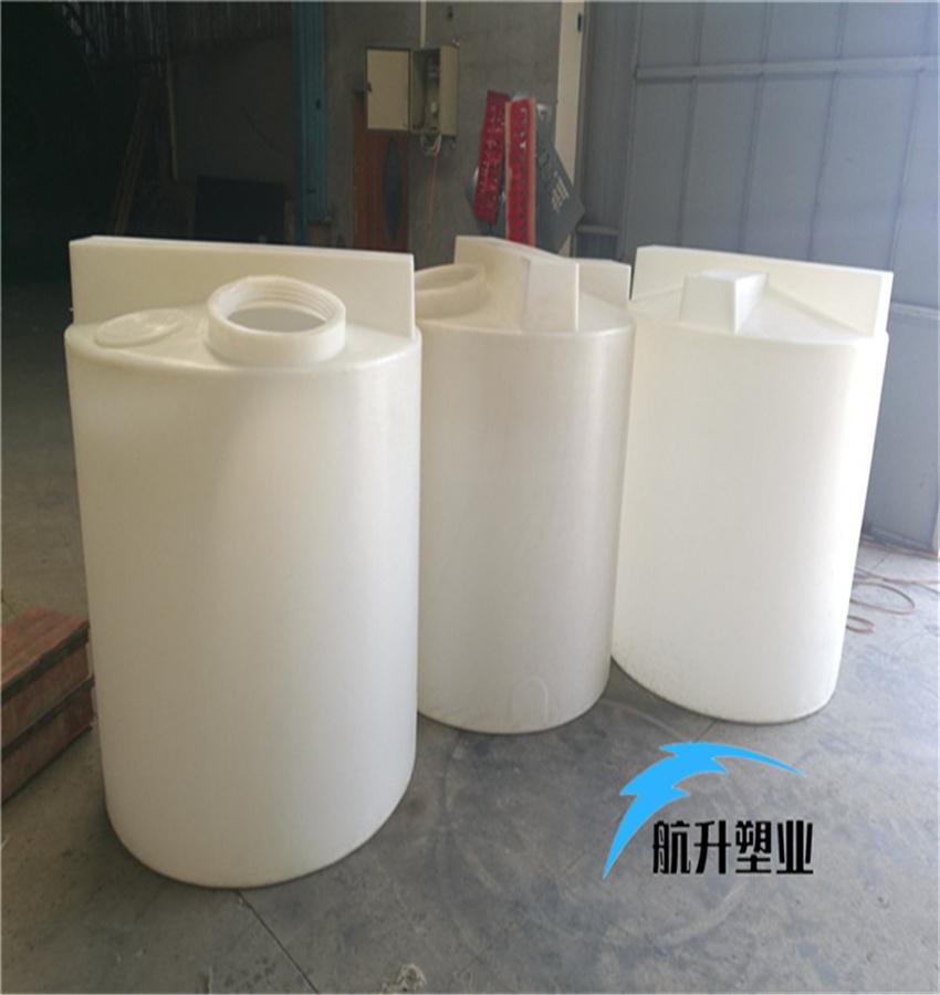 PE加药箱 江西加药桶厂家航升塑业供应1吨污水搅拌加药桶示例图3