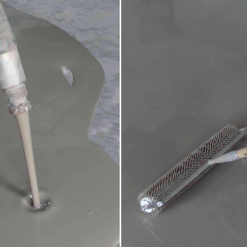 石膏基自流平 輕質地暖墊層 自流平砂漿 耐水 耐用 不粉化 性價比高 降低房屋承重