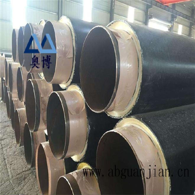厂家直销 保温钢管 聚乙烯聚氨酯保温钢管 批发 预制保温钢管示例图11