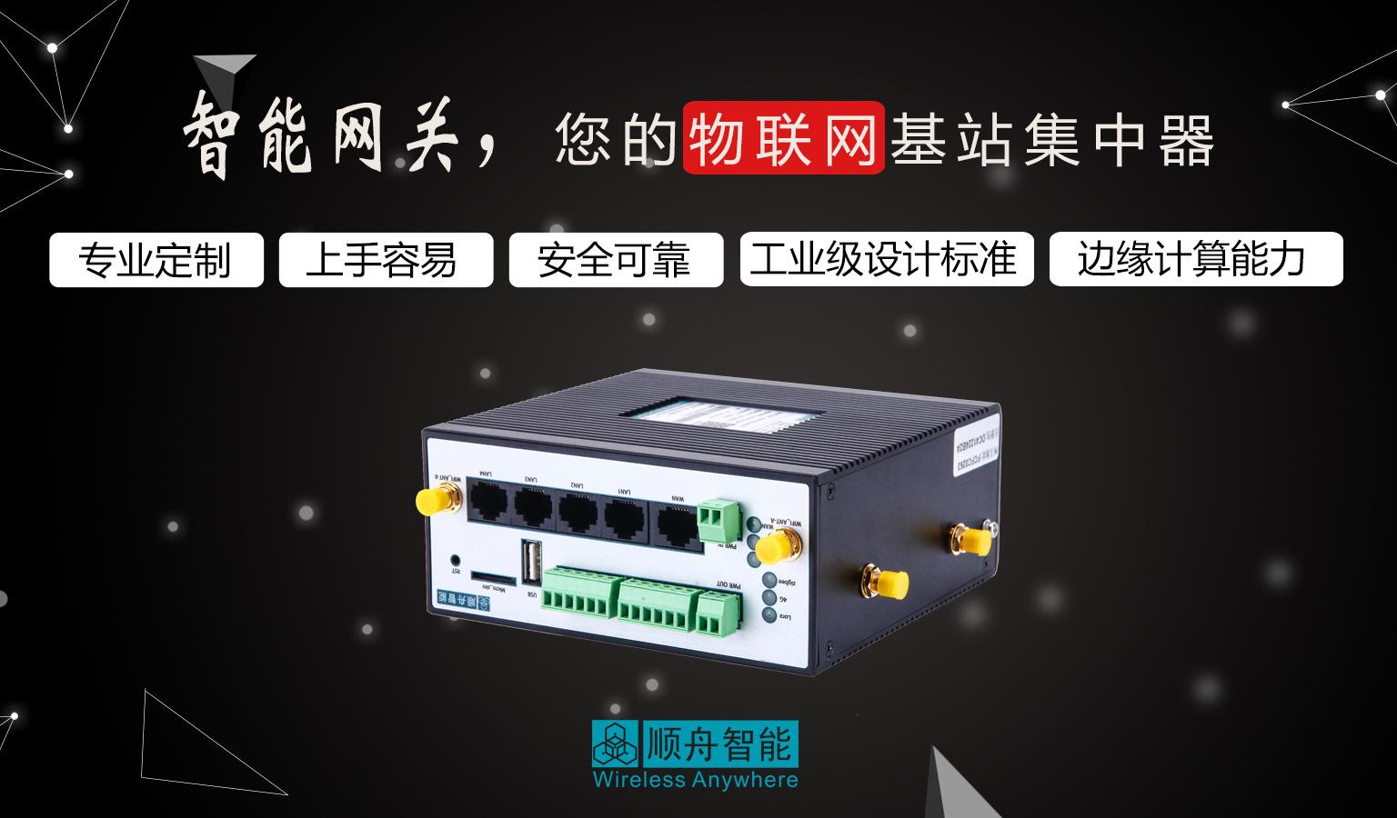 无线智能家居网关厂家 一体化物联网网关 下行多种通信方式可选示例图2