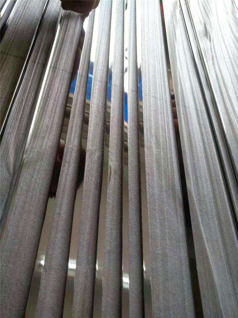 6毫米不锈钢实心条 镜面钛金装饰T条瓷砖收口填缝玫瑰金条批发示例图18