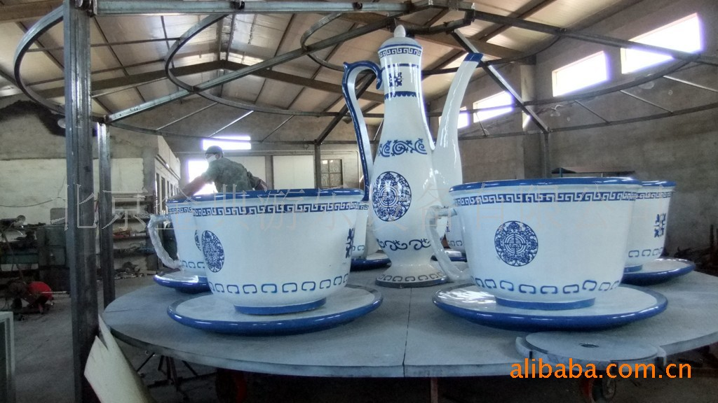 游乐设备 转转杯 咖啡杯 儿童游乐设备示例图4