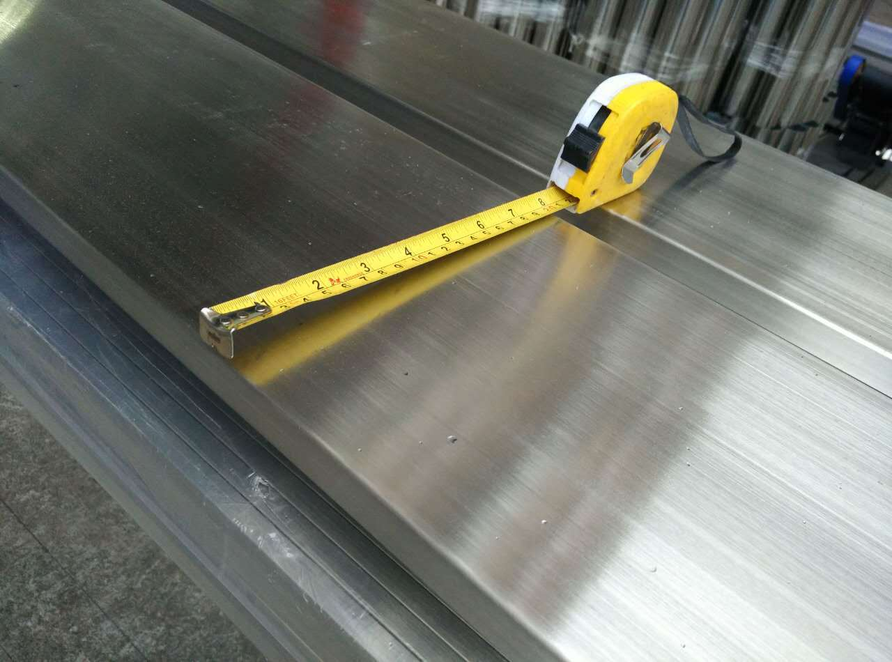 现货供应 不锈钢方管50*100*3.0拉丝方通 佛山厂家批发示例图9