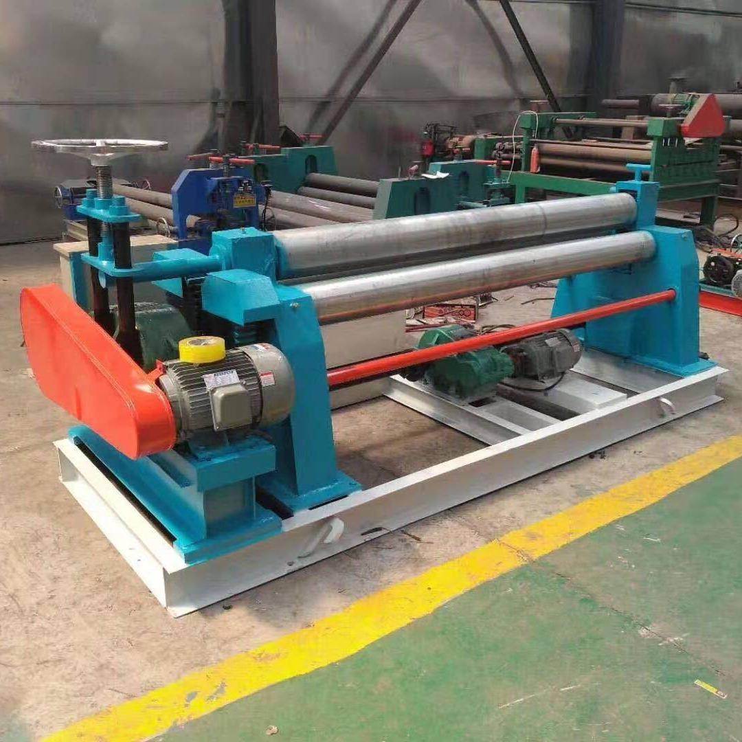 小型电动机械三辊卷板机厂家直销专业生产三辊式卷板机侑轩YH-009