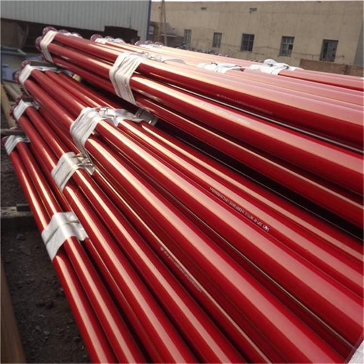 龙都供应 内外涂塑钢管 电力涂塑管 内外涂塑焊接钢管