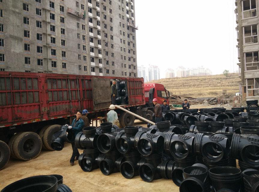 450*300流槽直通井 塑料检查井 华北大型生产厂家 售后服务有保证示例图8