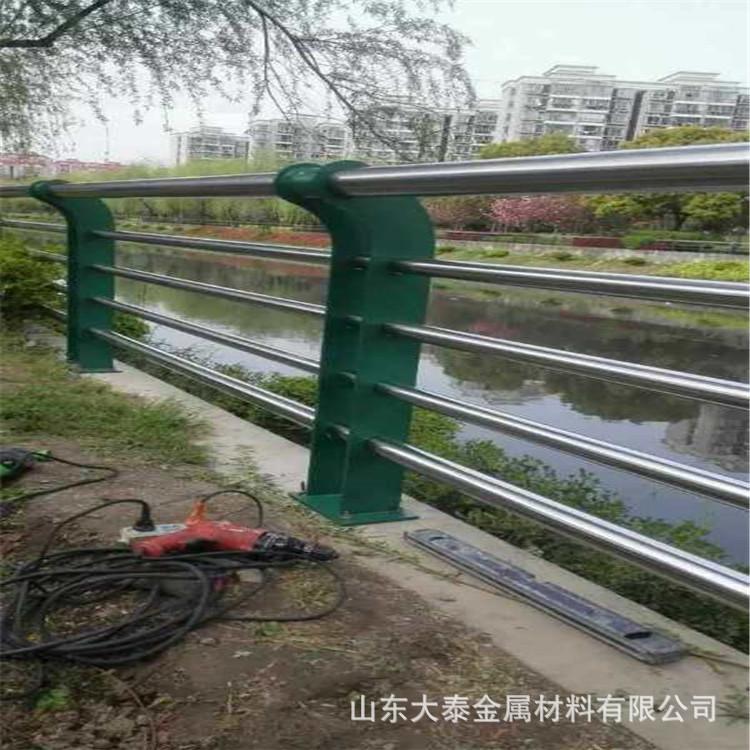 護欄鋼板立柱 不銹鋼復合管護欄鋼板立柱 防撞護欄鋼板立柱加工示例圖11