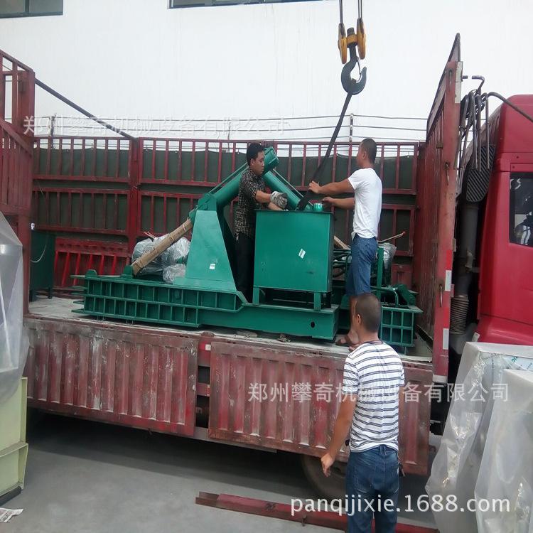 推荐铁屑金属压块机废钢压块成型机全自动液压金属打包机示例图9