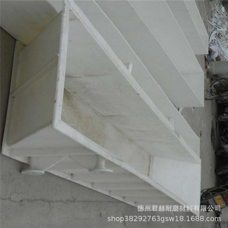 易焊接白色聚丙烯板 耐酸碱耐腐蚀pp PE板材 电镀槽定做水箱示例图4