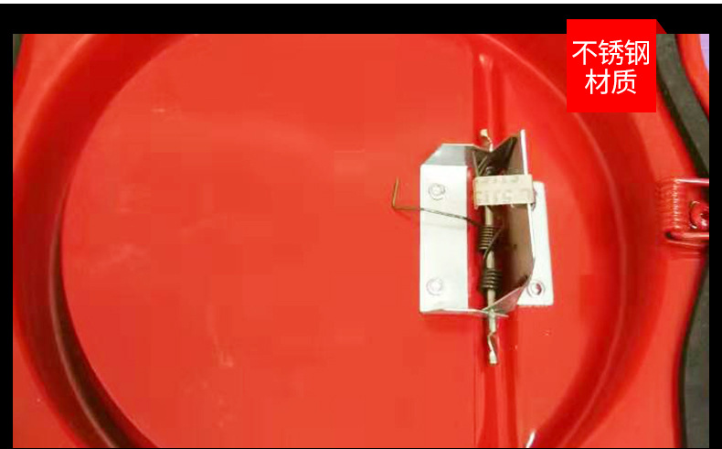 侧开式烟道防火止回阀 侧开不锈钢防火止回阀 烟道止回阀消防认证示例图7