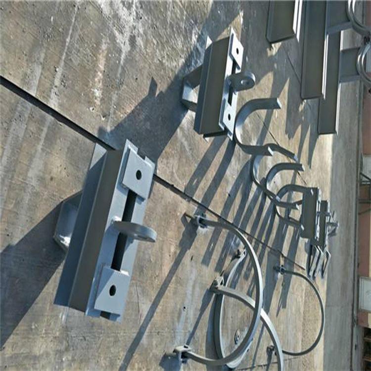 致恒生產 LD垂直圓形管道無墊板焊接吊架 LE垂直圓形管道帶墊板焊接吊架  質量可靠