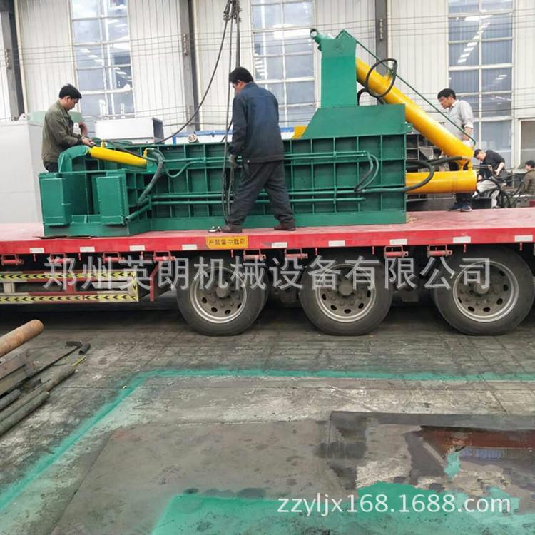 厂家直供废金属液压打包机 废铁铝压块机 卧式金属成型机示例图12