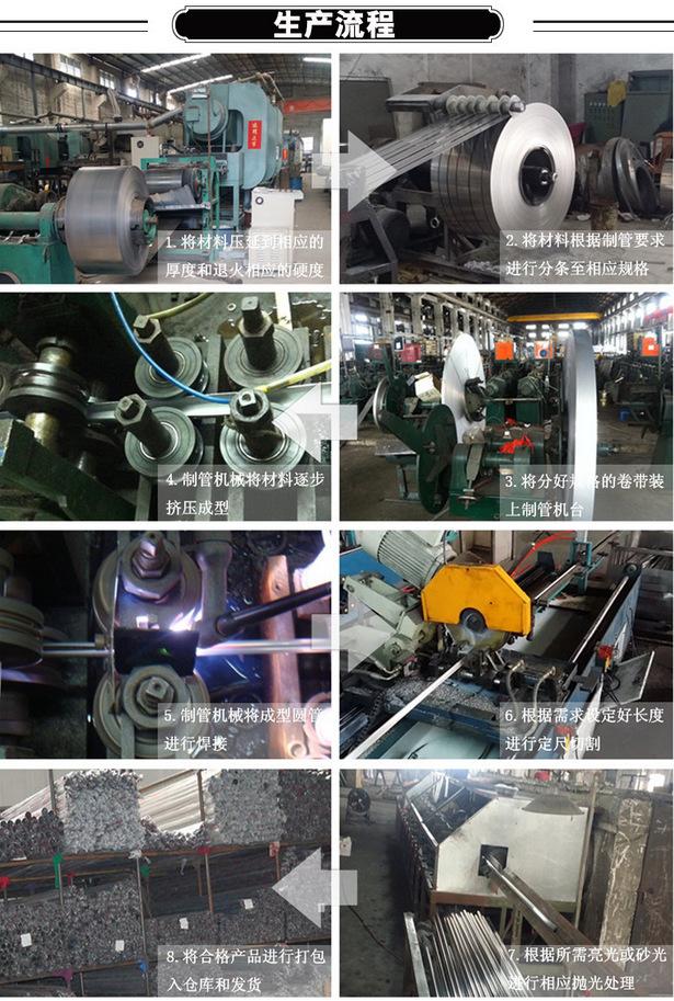现货供应 不锈钢方管50*100*3.0拉丝方通 佛山厂家批发示例图14