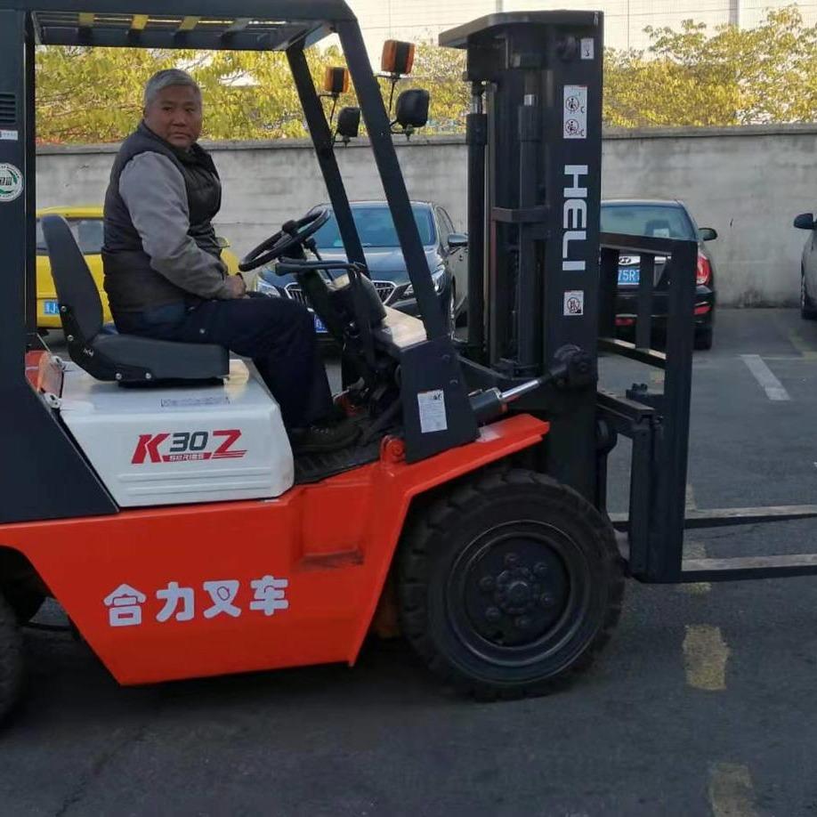 九成新合力叉車 升高3米4米側移叉車 夾抱二手叉車 二手電動叉車出售