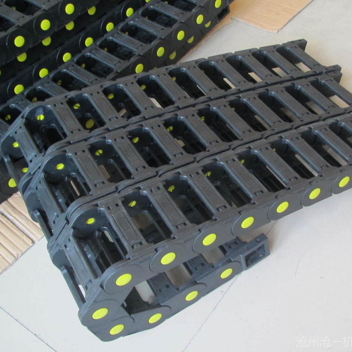 滄一批發加工中心塑料拖鏈穿線尼龍拖鏈電纜塑料拖鏈