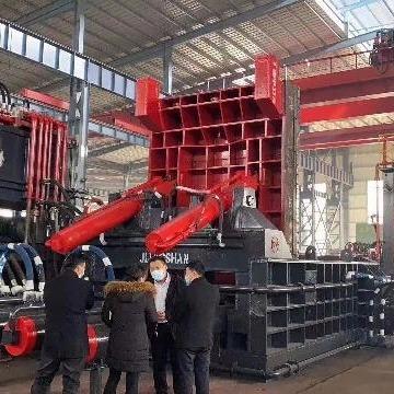 江山     1000噸     臥式 金屬打包機