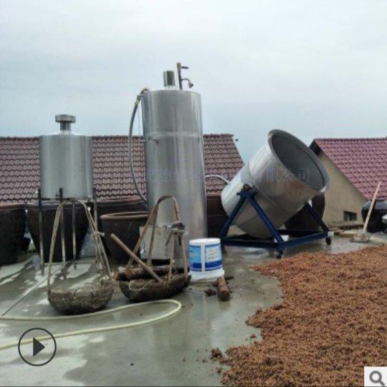 酿酒设备 德酿 糖化型200 白酒酿酒设备  一套酒设备   占地面积小 厂家直销
