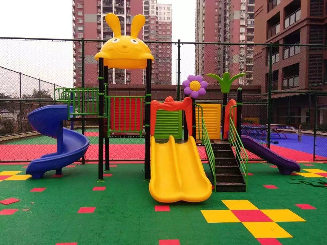 专业生产定制室外小区广场幼儿园滑梯 户外儿童乐园滑梯 物美价廉示例图3