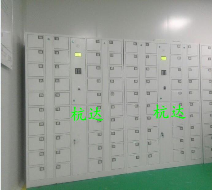 公司刷卡联网电子更衣柜杭州第九中学校联网书包柜储物柜示例图7