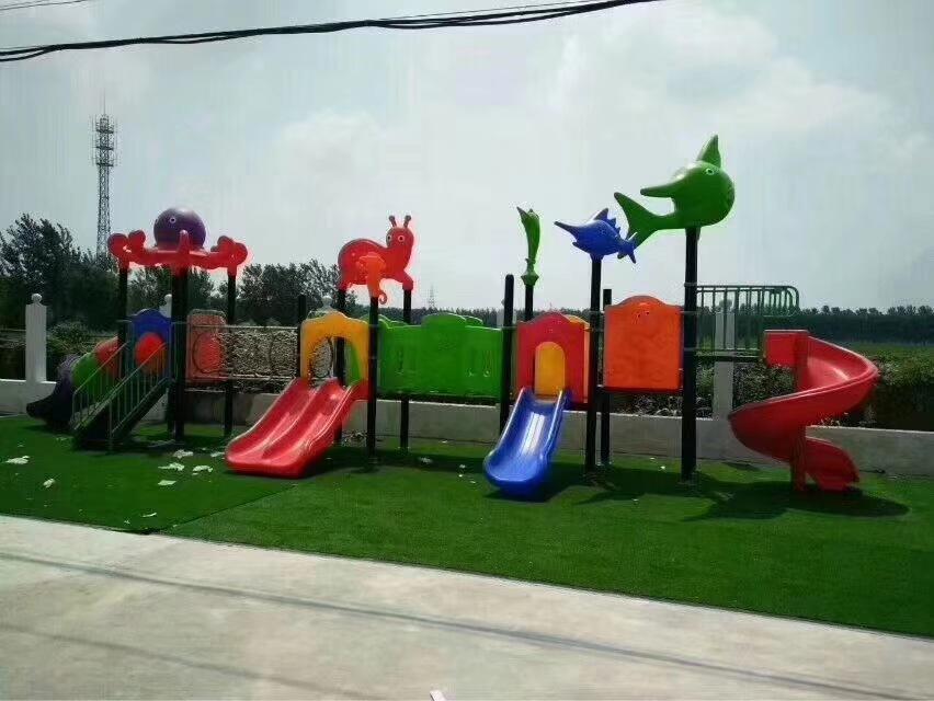 专业生产定制室外小区广场幼儿园滑梯 户外儿童乐园滑梯 物美价廉示例图8