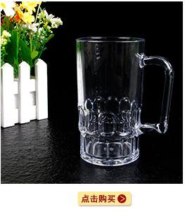 东莞工厂定制塑料分酒壶PS透明塑料冷水壶670ml果汁饮料壶尖嘴壶示例图7