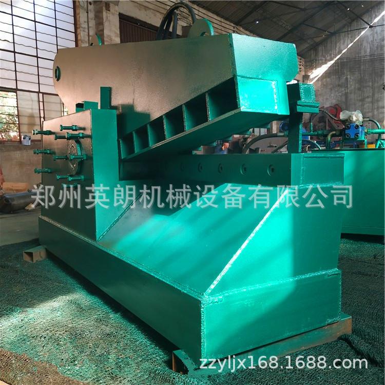 报废汽车鳄鱼剪 重型金属废料废铁剪切机 高压力200吨废钢剪断机示例图12
