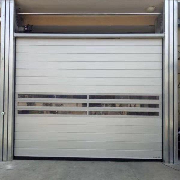 邁徳克 直銷   分段提升門  快速卷簾門   硬質卷簾門