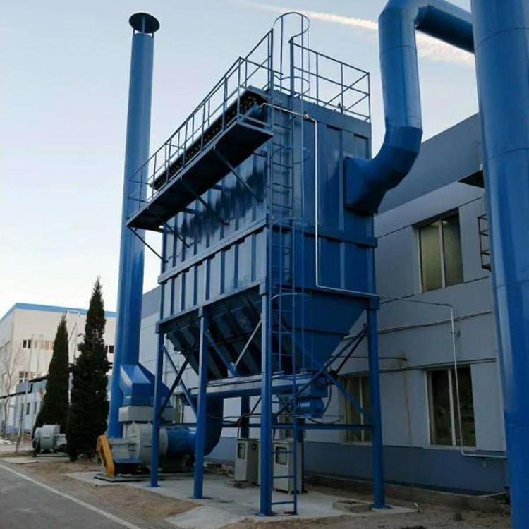 沧州鹏誉环保 定制 DMC-200砂光机布袋除尘器 石料厂布袋除尘器 布袋除尘 DMC48