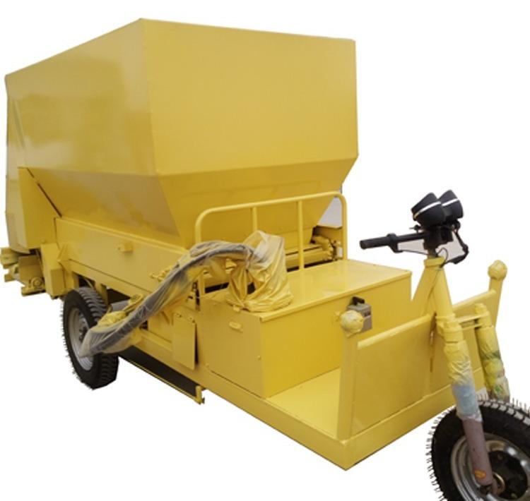 柴油动力撒料车 电动撒料车 养殖饲料撒料车 养殖机械设备撒料车示例图3