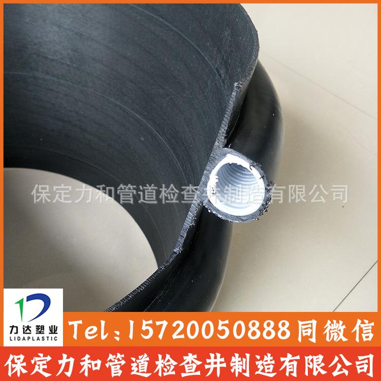 聚乙烯缠绕结构壁B型管 克拉管 100%全新料 零渗漏 耐腐蚀耐酸碱示例图9