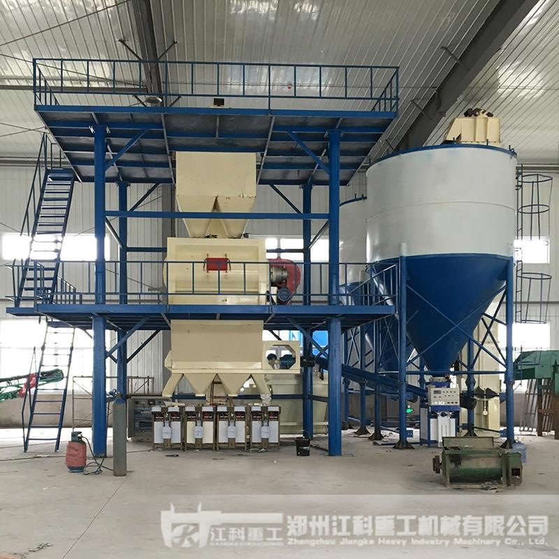 郑州江科重工 多功能干粉砂浆生产线 生产抗裂砂浆设备厂 生产瓷砖粘接剂设备 干混沙浆生产线