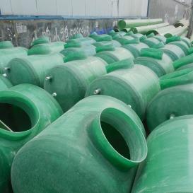 厂家直销 卧式玻璃钢储罐 玻璃钢盐酸储罐 耐酸碱罐污水贮罐 玻璃钢化粪池