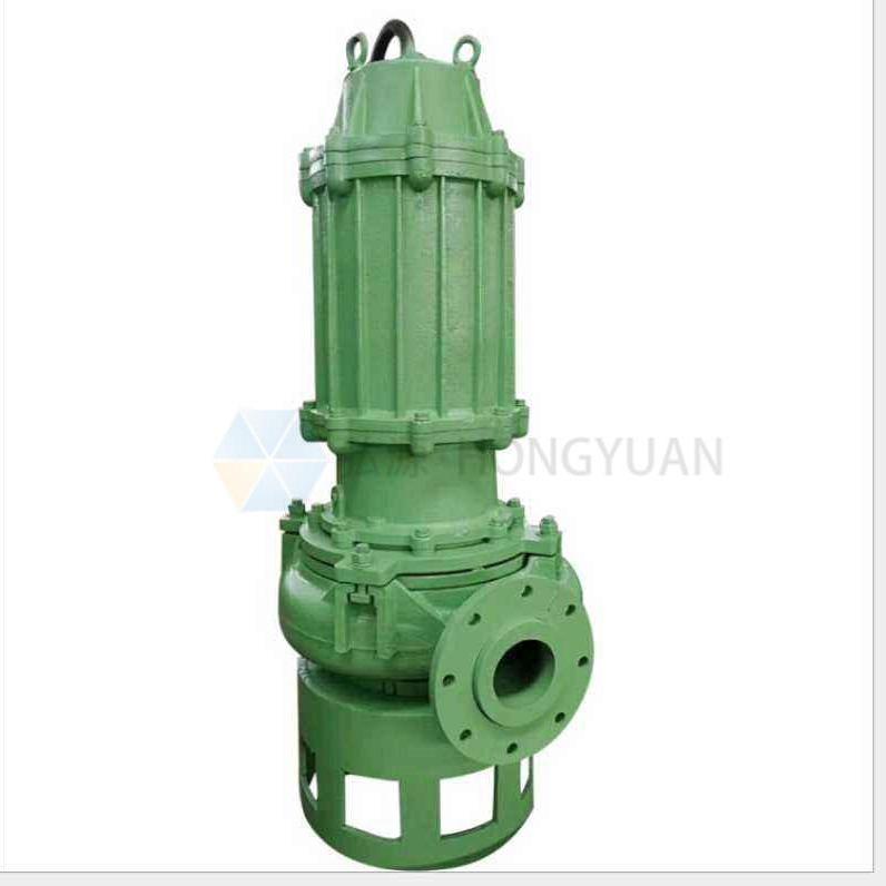 厂家供应 ZJQ30-12-3潜水渣浆泵 船用耐磨吸沙泵 河底清淤泥浆泵 河北汉江弘源