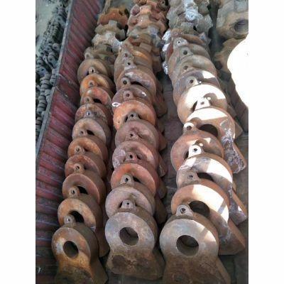 鄂破●专用配件 牙板 边护板 高锰钢颚板 额板 颚式ξ破碎机鄂板