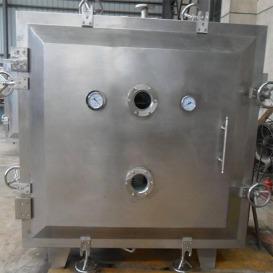 FZG方形真空干燥机 烘干箱 蒸汽加热圆形真空干燥箱 医药烘干箱