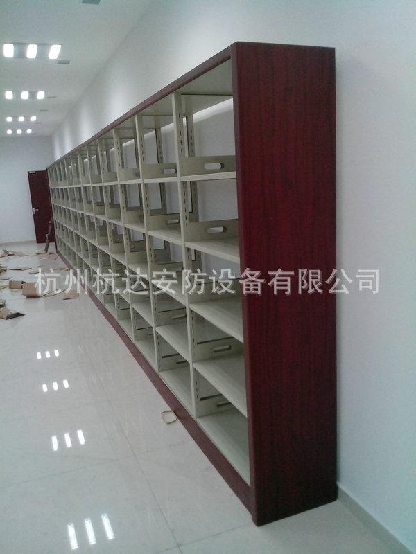厂家定做 图书馆钢制书柜 大型多层书柜系列示例图75