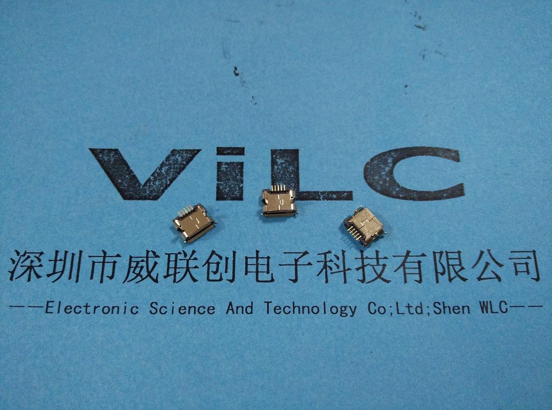 MICRO 5S USB牛脚型DIP8.6小牛角4.5mm 正向/反向胶芯示例图3