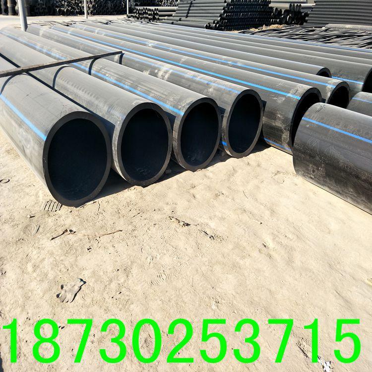 厂家直销PE穿线管耐磨PE电力管黑色阻燃电缆专用穿线管示例图4